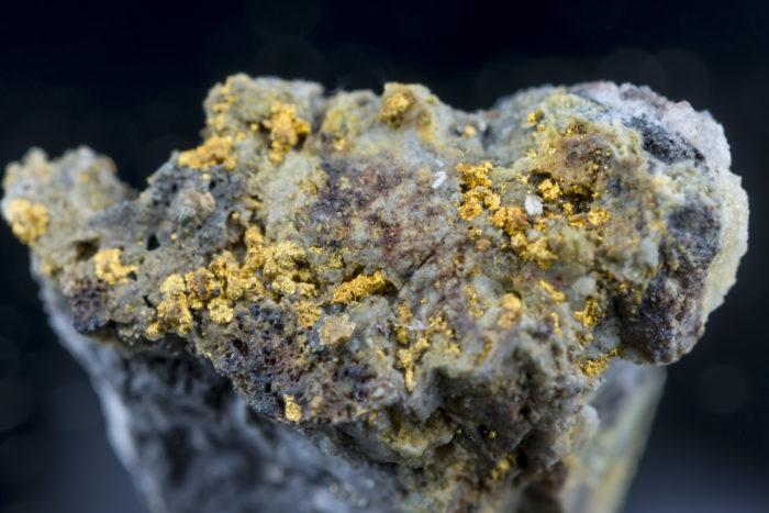 自然金〈アメリカ・コロラド州産〉