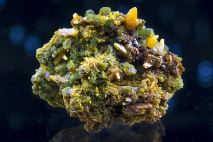 モリブデン鉛鉱/ミメット鉱〈メキシコ産〉−1